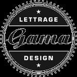 Logo Gama Lettrage et Designs