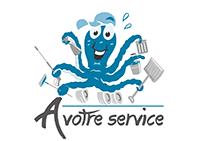 Logo A votre service Sàrl