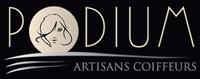 Logo Coiffure Podium Artisans Coiffeurs