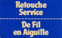 Logo De Fil en Aiguille - Retouche Service