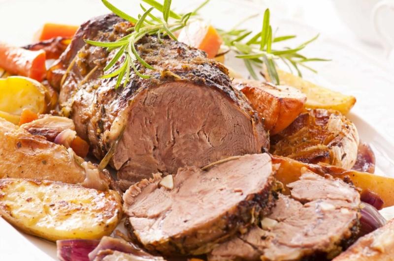 The recipe of leg of lamb