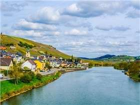 La Moselle luxembourgeoise et son attrait touristique