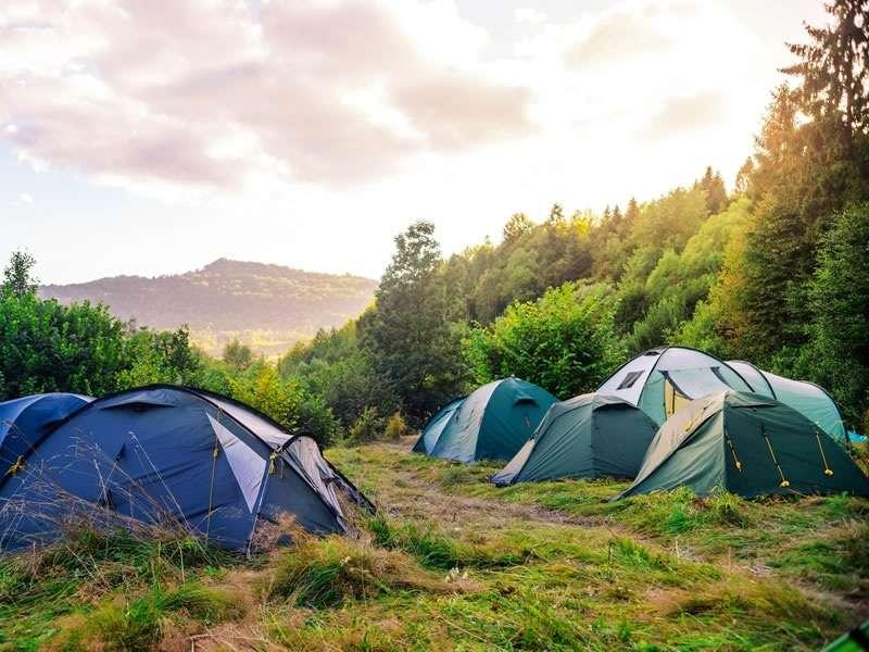 holiday camping