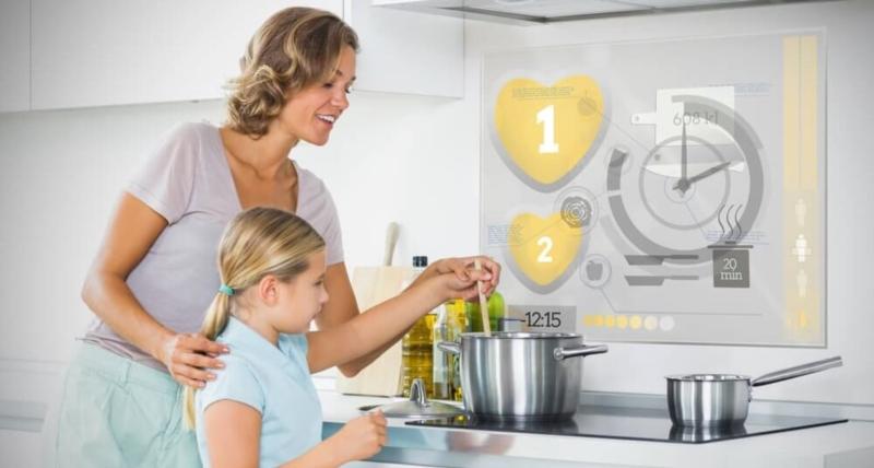 Apparater mat Hausautomatië verbonnen