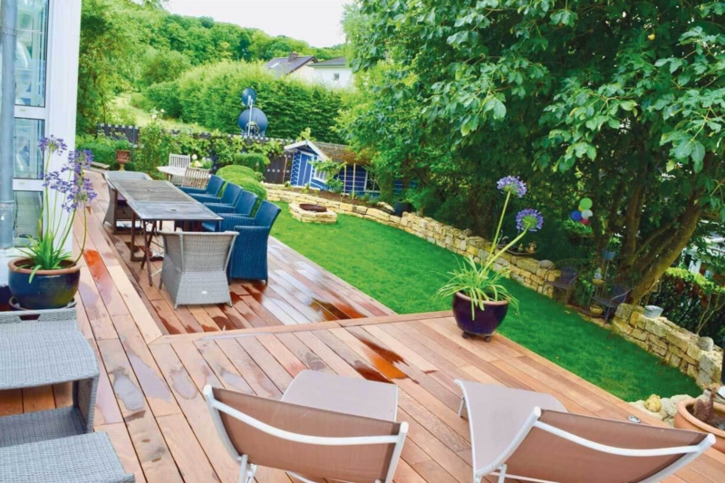 Choose the wood to build your terrace