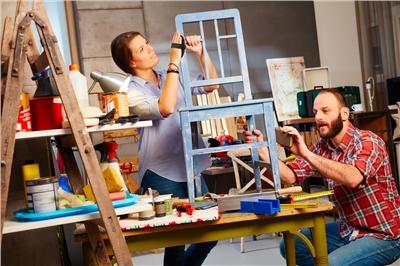 Set up a DIY workshop at home