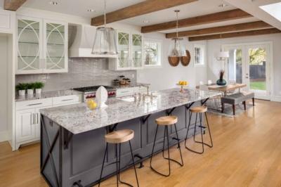 Develop a functional kitchen