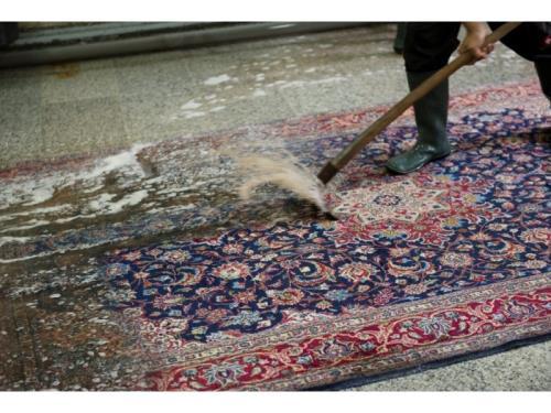 Nettoyage et remise à neuf de tapis