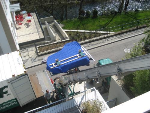 D m nagement et mat riel de d m nagement streff for Garde meuble luxembourg
