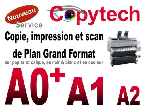 Plan Wide Format A0+ A1 A2 Repro