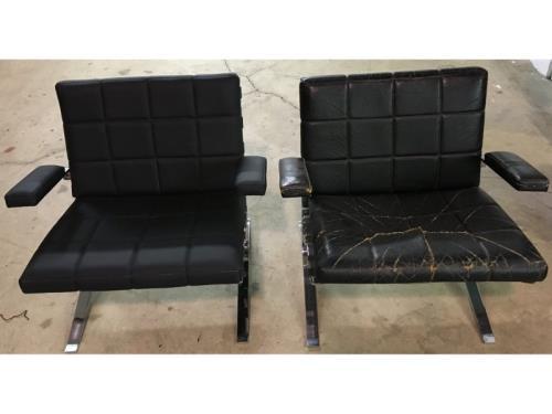 Garnissage chaise (avant/ après)
