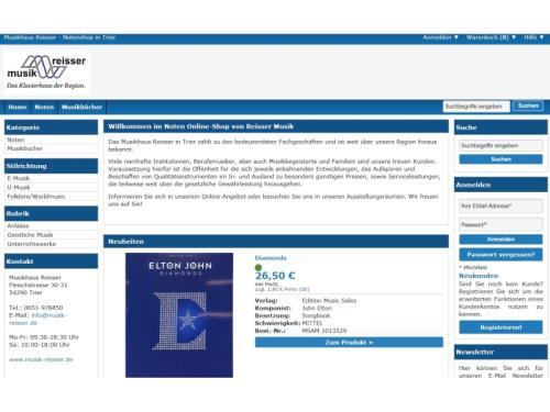 Unser Noten Online-Shop