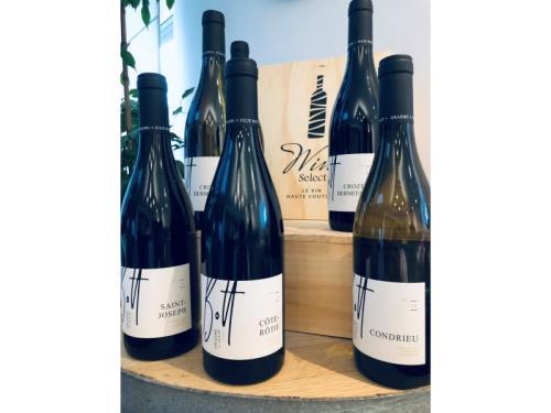 Les vins de Graeme et Julie Bott à Luxembourg