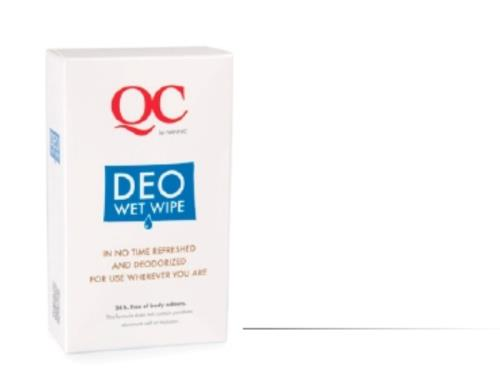 QC Déo Wet Wipes - NANNIC QC DEO & HYGIENE