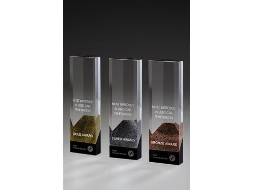 Awards et trophées en Crystal