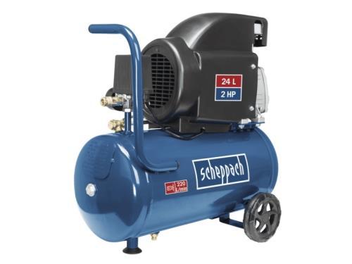 Compresseur HC26 scheppach - 230V 50Hz - 24L