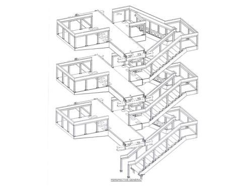 Fabrication et montage d'un escalier