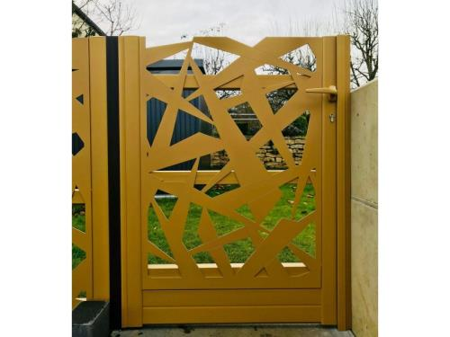 Portillon sur mesure aluminium