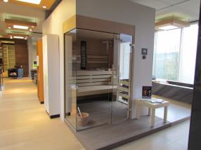 Sauna und Infrarot-Wärmekabinen