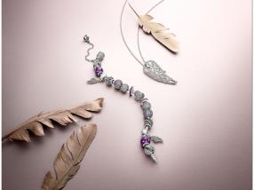 Bracelet & pendentif Majestic