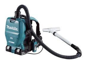 Aspirateur dorsal à batteries Makita avec pack 4x18V (5mAh)