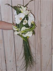 Bouquet de mariée néodécoratif