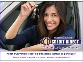 Crédit voiture / Financement véhicule