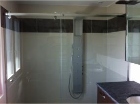 Rénovation de salle de bain après sinistre