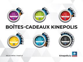 Boîtes-cadeaux Kinepolis !