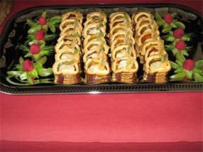 Mini pâtés de viande en croûte