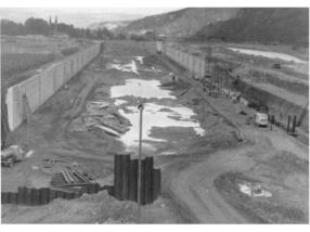 Construction du bassin