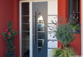 Haustüren in Holz, Kunststoff, Holz - Aluminium