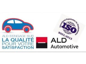 ALD Automotive obtient la certification ISO 9001:2015