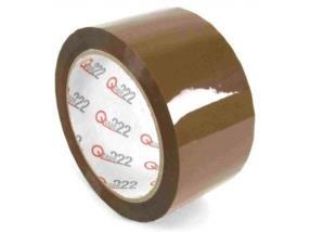 Qtape® 222 - PP-Klebeband 28 mµ, braun, AC LN