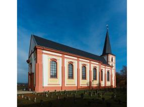 Restoration of the Baroque church in Junglinster