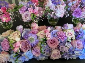Décoration florale pour un mariage