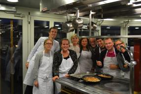 Team cooking avec Michel Boreux