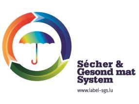 Label Sécher & Gesond mat System