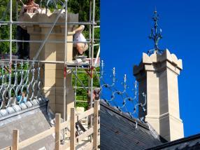 Restauration de façades,