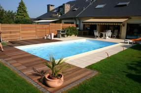 Nos piscines extérieures