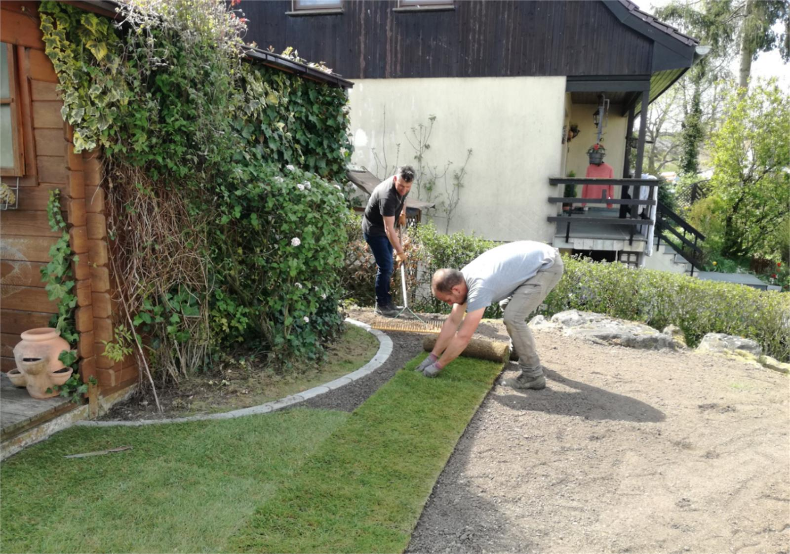 Le jardin merveilleux s rl jardinage am nagement for Entreprise jardinage