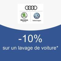 -10% sur un lavage de voiture